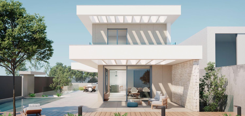 arquitectura_Casa_mediterranea_piscina_porche_pergola
