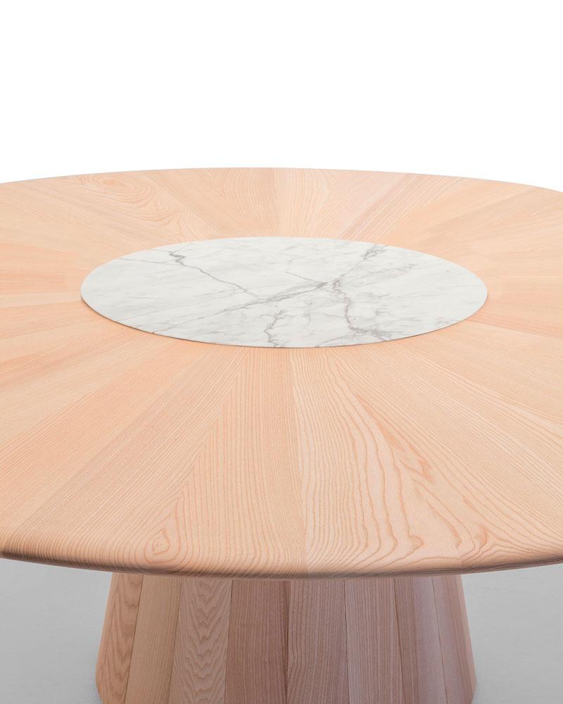 Mesa redonda reverse wood